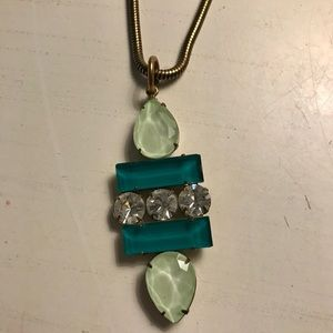 Pendant necklace by Loren Hope